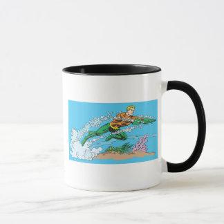 Mug Tirets d'Aquaman par l'eau