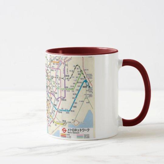 MUG TOKYO  地図東京の地下鉄