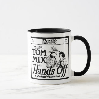Mug Tom Mix REMET OUTRE de 1921