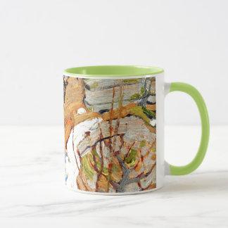 Mug Tom Thomson - neige et roches
