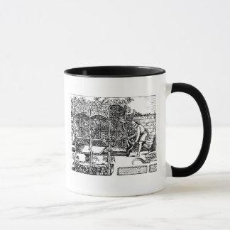 Mug Tonnelle étant construite comme nuance contre le