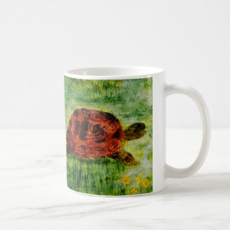 Mug Tortue animale d'art de reptile