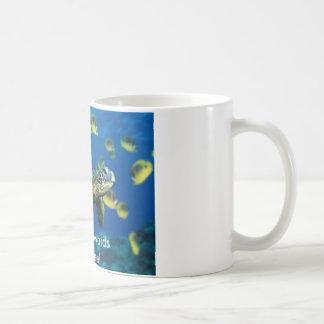 Mug Tortue de mer verte, se dirigeant vers le café !