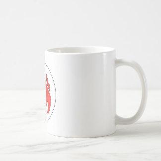Mug Touffe de flamme du feu de la musique d'eau chaude