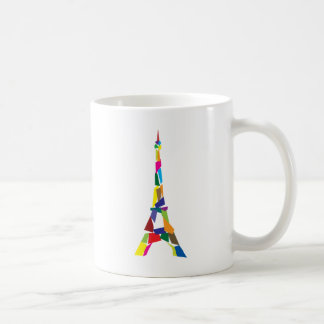 Mug Tour Eiffel abstrait, France, Paris