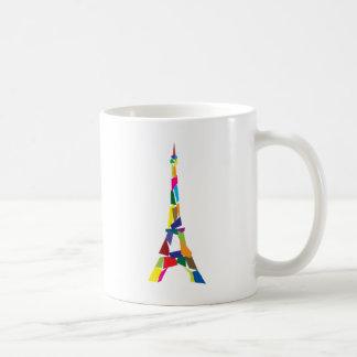 Mug Tour Eiffel abstrait, France, Paris
