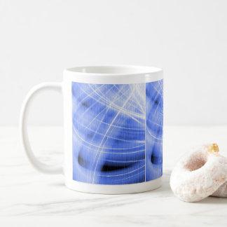 Mug tourbillon de nuage bleus