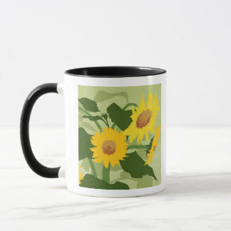 Mug Tournesols illustrés
