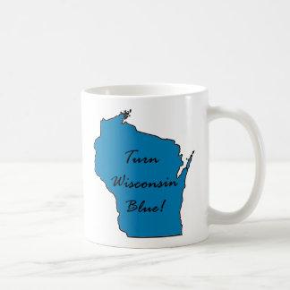Mug Tournez le Wisconsin bleu ! Fierté Democratic !