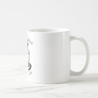 Mug Tournez-vous autour pour commencer un NOUVEAU
