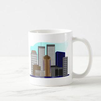 Mug Tours jumelles New York---Cadeaux uniques d'art