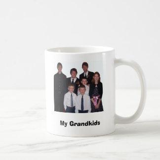 """Mug Tous les cousins instruits, """"mes Grandkids """""""
