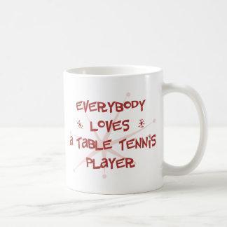 Mug Tout le monde aime un joueur de ping-pong