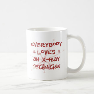Mug Tout le monde aime un technicien de rayon X