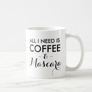 Mug Tout que j'ai besoin est hipst drôle de citation
