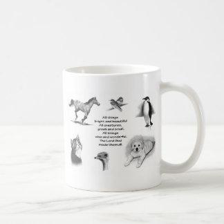 Mug Toutes les créatures grandes et petites : Animaux