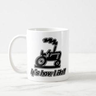 Mug Tracteur de ferme comment je roule