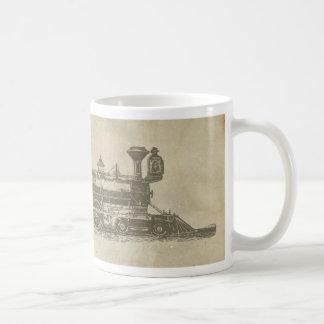 Mug Train de chemin de fer vintage locomotif vintage