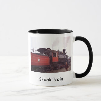 Mug Train de mouffette