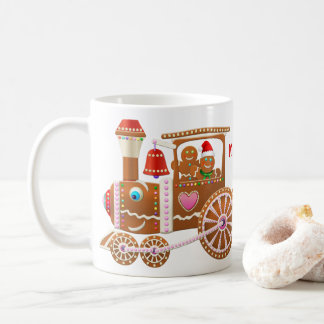 Mug Train de Noël de pain d'épice