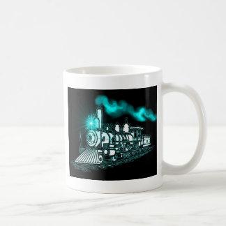 Mug Train de vert de Smokin