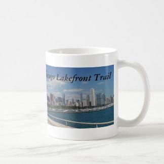 Mug Traînée de bord du lac de Chicago