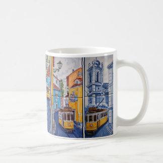 mug tramway rues de Lisbonne azulejos
