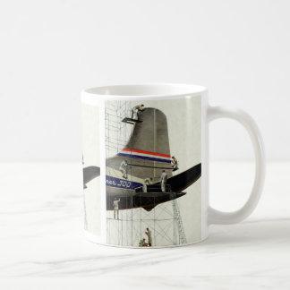 Mug Transport vintage, entretien pour des avions