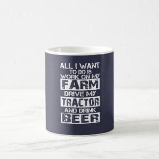 Mug Travail à ma ferme