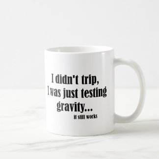 Mug Travaux de gravité
