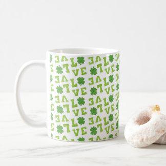 Mug Trèfle du jour de St Patrick d'amour