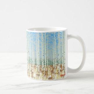 Mug trembles en hiver
