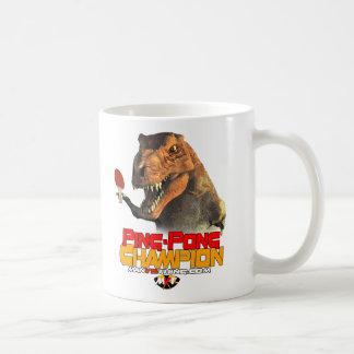 Mug TRex : Champion de ping-pong