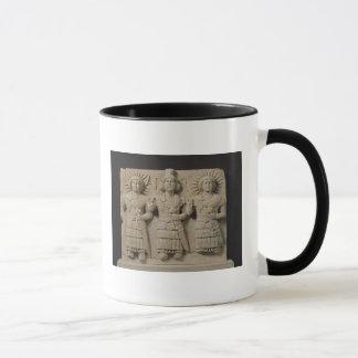 Mug Triade de dieux de Palmyrene, de région de Palmyra