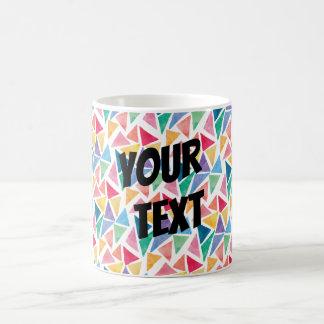 Mug Triangle colorée moderne