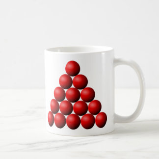 Mug Triangle de billard