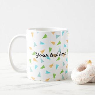 Mug Triangles dans des couleurs en pastel, motif