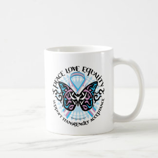 Mug Tribal de papillon de transsexuel