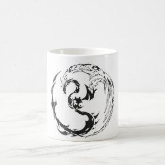 Mug tribal dragon
