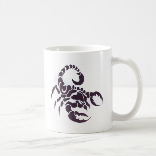 Mug Tribal scorpion