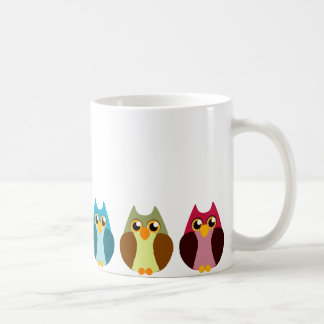 Mug Trio coloré de hibou