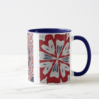 Mug Trio patriotique de drapeau colonial