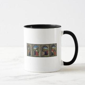 Mug Triptyque montrant l'annonce