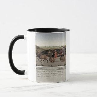 Mug Triumph de Battista Sforza, duchesse d'Urbino.