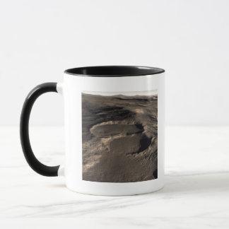 Mug Trois cratères dans la région orientale de