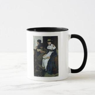 Mug Trois femmes dans l'église, 1882