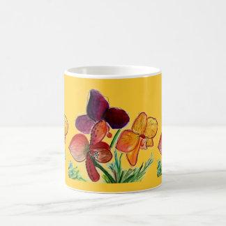 Mug Trois orchidées et soleils