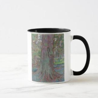 Mug Tronc d'arbre, 1916 (huile sur la toile)