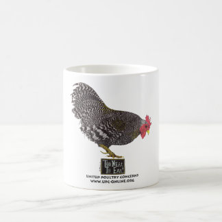 Mug Trop ordonné pour manger ! - Coq