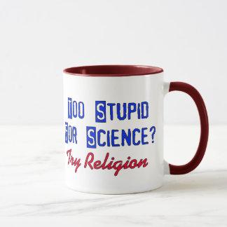 Mug Trop stupide pour la Science